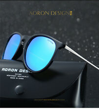Polarized Women Men Retro Vintage Aluminum Aviator Sunglasses Eyewear Glasses