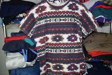 New listing Aztec Surfer Surfing Skateboarding vtg Usa Made Funky t shirt Medium M/L Cotton