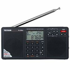 Tecsun PL398MP DSP Digital AM/FM/LW Shortwave Radio with Dual Speakers & MP3