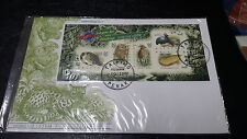 Malaysia Protected Wildlife FDC 1997 Stamp Week