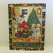 Mary Engelbreit Christmas Cards Lot of 7 Plus Bonus Blank Cards Envelopes
