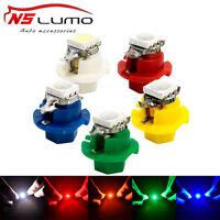 10x T5 5050 1SMD LED B8.4D 509T Indicator Gauge Dashboard Dash Side Lights Bulbs