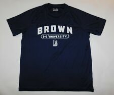 NWOT BROWN UNIVERSITY NCAA College UNDER ARMOUR Loose Training JERSEY SHIRT XL