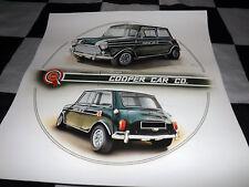 MINI COOPER S JOHN RHODES BMC RACING 1968 NEW PAINTING PRINT ART CHRIS DUGAN A+
