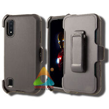 For Samsung Galaxy A01 Case (Clip fits Otterbox Defender) Kickstand Rugged Cover