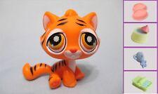 Littlest Pet Shop 905 BENGAL TIGER ORANGE STRIPES CAT +1 FREE Access 100% Authen