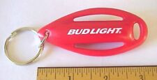 BUDWEISER BUD LIGHT LIFEGUARD BUOY FLOAT BOARD SWIM RESCUE PLASTIC KEYCHAIN NEW!