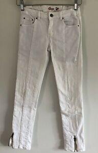 Girl's White Jeans 'GUM juicy sweet denim', size 10