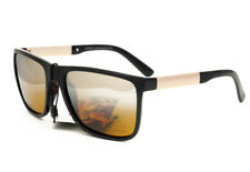 Matrix Polarized Glasses for Professional Night Driving Yellow Mirrored Lenses