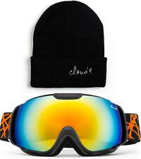 Ski Snowboard Goggles Kids Boys Girls Dual Lens Anti Fog UV Protection 1-6 years