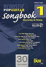 Acoustic Pop Guitar Songbook (+CD ) von Michael Langer + 1 Sharkfin Plec