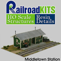Middletown Station HO Scale Craftsman Kit by Railroad Kits - The Leader in VALUE