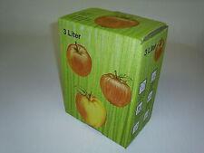 Karton 25 Stück 3 Liter  Bag in Box Karton, Schachtel in apfel je St. 0,90 €
