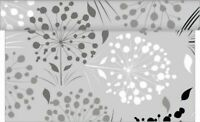 Tischläufer Erna in Grau aus Linclass® Airlaid 40 cm x 4,80 m, 1 Stück