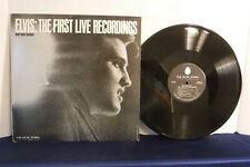 Elvis Presley: The First Live Recordings, The Music Works Records PB 3601, 1983