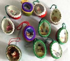 antique christmas ornaments 11 eggs handmade christmas decor - Antique Christmas Decorations