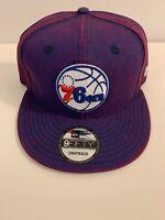 Philadelphia 76ers Snapback Hat New Era 9Fifty
