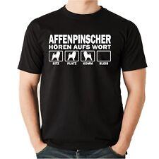 T-Shirt AFFENPINSCHER HÖREN AUFS WORT by Siviwonder Unisex