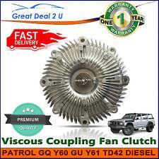 Viscous Fan Clutch Hub For Nissan Patrol GQ Y60 GU Y61 4.2L Diesel Wagon TD42