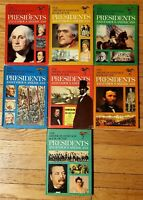 The American Heritage Book Of The Presidents And Famous Americans 1967 Vol 1-7