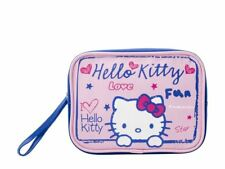 Hello Kitty Scribble Toiletry Bag - Women's NEW. For Her