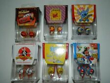 Earbuds Cell Phone Lilo & Stitch Pooh Cars Spongebob Super Mario Kids Bugs Bunny