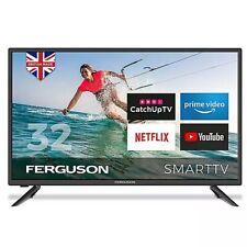"FERGUSON 32"" INCH SMART LED TV FREEVIEW HD, WIFI, 2 x HDMi, USB,1080"