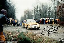 "World Rally Championship controlador Jean Ragnotti foto firmada de mano 12x8"" ao"