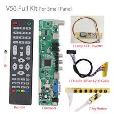 V56 Universel LCD TV Contrôleur Pilote Conseil PC/VGA/HDMI/USB Interface + 7 + c