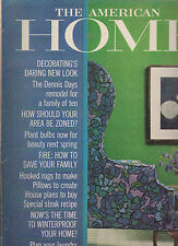 AMERICAN HOME MAGAZINE OCTOBER 1962 *DECORATING'S DARING NEW LOOK**