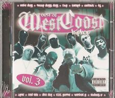 Best of West Coast Hip Hop, Vol. 3 by Various Artists (2-CD, 2006, Mob Records