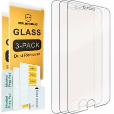 iPhone 6 Plus 6S Plus Tempered Glass HD Clear Screen Protector Full Coverage 3PC