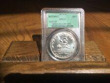 Beautiful 1997-P  (ICG-MS69) Botanic Silver Dollar