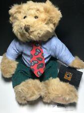 Russ Berrie #3358 Winston Business Man Bear