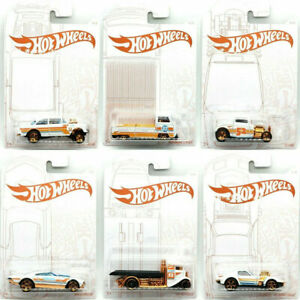 Hot Wheels Pearl and Chrome set of 6