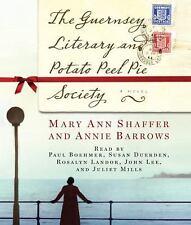 Shaffer Mary Ann/ Barrow An...-The Guernsey Literary And Potato Peel Pie  CD NEW