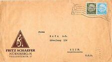 Ungeprüfte Briefmarken aus dem deutschen Reich (1933-1945) mit Post, Kommunikation
