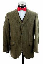 Vtg Mavest English Wool Tweed 2/3 Roll Country Norfolk Sport Coat Jacket  38/40