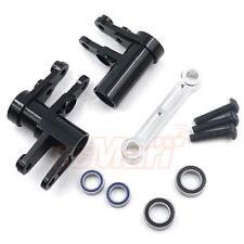 Hot Racing Aluminum Steering Bellcranks Set Black For Traxxas 4-Tec 2.0 #TRF4801