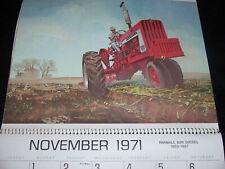 1971 International IH Calendar 1026 M 806 560 M-TA Tractor Sleepy Eye Minnesota
