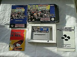 SNES SUPER NINTENDO BOXED GAME - COMPLETE - DONKEY KONG COUNTRY 2 VGC