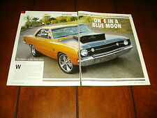 1968 DODGE DART GSS HEMI ***ORIGINAL 2007 ARTICLE***