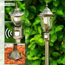 Wege Lampen mit Bewegungsmelder Garten Aussen Steh Leuchten Pollerleuchte Glas