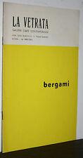 bergami catalogo (1967) galleria la Vetrata Roma