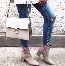 Grey Zara Ankle Boots 7 40 New BNWT