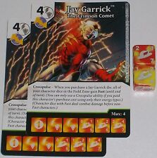 2 x JAY GARRICK: THE CRIMSON COMET 62 Green Arrow and The Flash Dice Masters