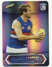 2015 AFL SELECT CHAMPIONS SP211 STEWART CRAMERI BULLDOGS SILVER PARALLEL CARD