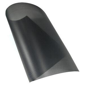 1000x300mm PC Computer Fan Dust Proof Filter Net Cooler PVC Screen Mesh Black 1x