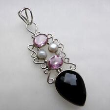 Handmade Topaz Onyx Fine Jewellery