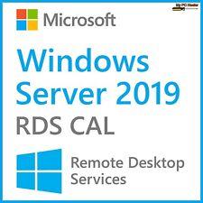 Remote Desktop Services License Windows Server 2019 RDS CAL DEVICE License Key